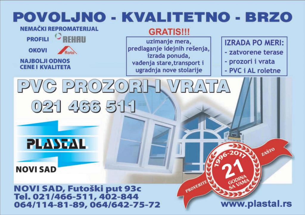 PVC i ALU stolarija Novi Sad, PVC i ALU stolarija Beograd