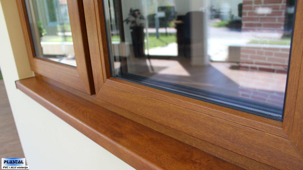 PVC stolarija drvo dekor - Plastal