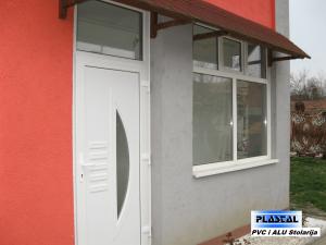 PVC Vrata - ukrasni panel 2