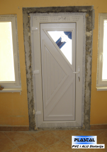 PVC Vrata - ukrasni panel 3